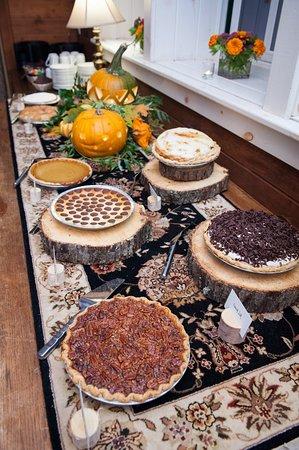 Birchwood, Wisconsin: Dessert table arrangement. markkegansphoto.com