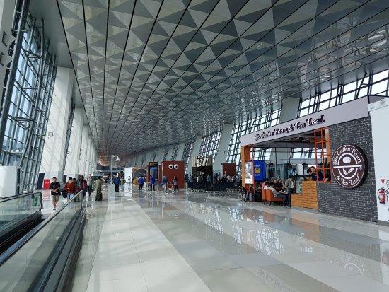 Terminal 3 At Jakarta Airport Picture Of Garuda Indonesia Tripadvisor