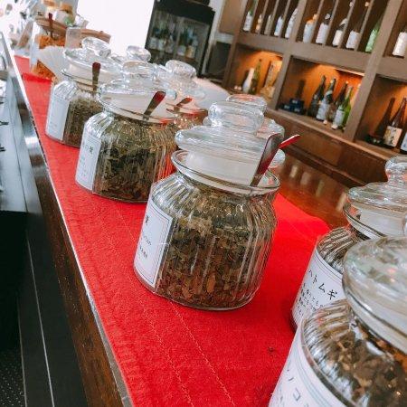 Bandai-machi, اليابان: ホテルラウンジでお茶を楽しむ
