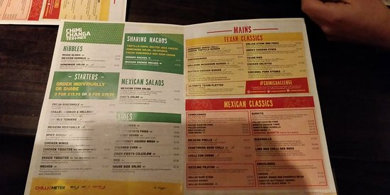 Chimichanga Mexican Restaurant Crawley