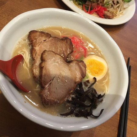 We enjoyed the ramen and the karaage chicken
