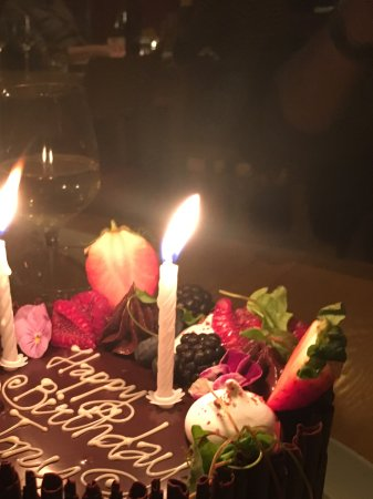 Awe Inspiring Small Birthday Cake Picture Of Terre A Terre Brighton Tripadvisor Personalised Birthday Cards Paralily Jamesorg