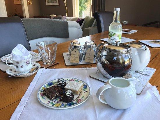 Naseby, New Zealand: Teatime! So tasteful!