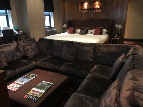 هوتل دو فين آند بيسترو برمنجهام: Penfold Grange Room