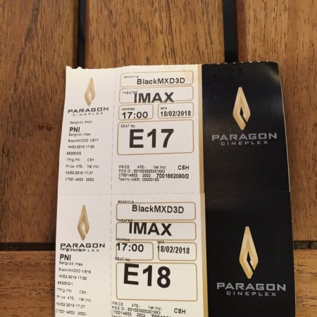 Krungsri IMAX Theatre (Bangkok) - 2019 Book in Destination - All You