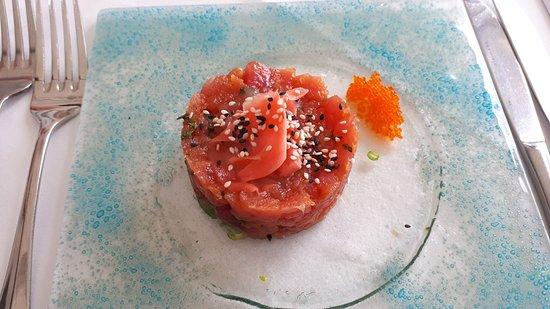 Lone Star Restaurant & Hotel: Tuna Tartare