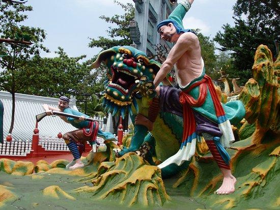 Tiger Balm Gardens - Picture of Haw Par Villa, Singapore