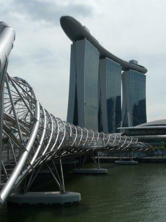 The Helix Bridge: ponte