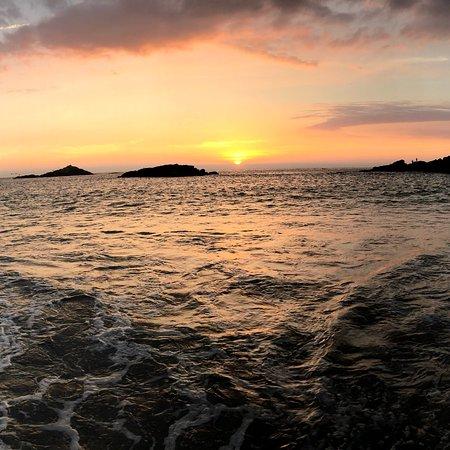 Huarmey, Перу: Sunset en Playa Tuquillo