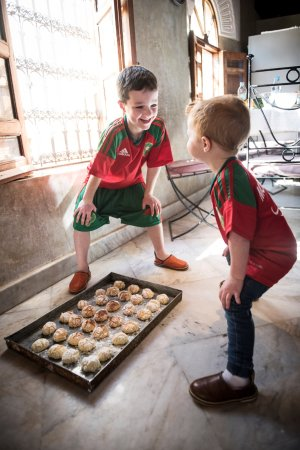 Riad Layla: Cooking/Baking Class