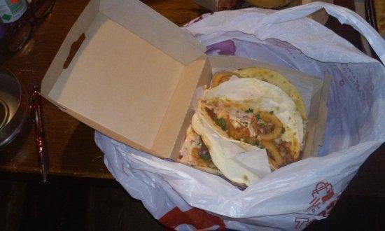 Sanford, ME: BBQ Brisket Tacos