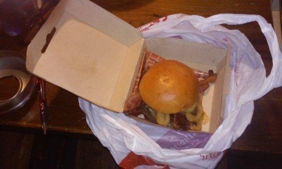 Sanford, ME: BBQ Bacon Burger