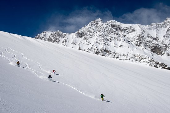 Sainte-Foy-Tarentaise, França: Ski hors-piste Tarentaise-tours