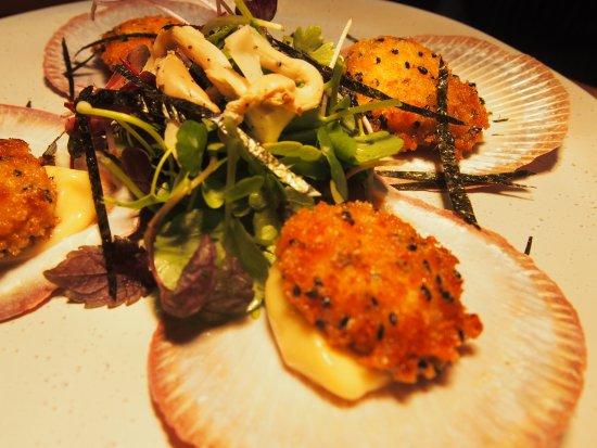 Alexandra, Australia: Come and try the dinner menu, Hervey Bay Scallops