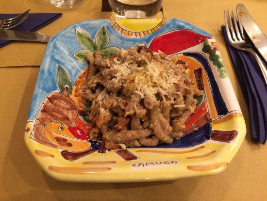 Tischi Toschi Roma: Pesto trapanese
