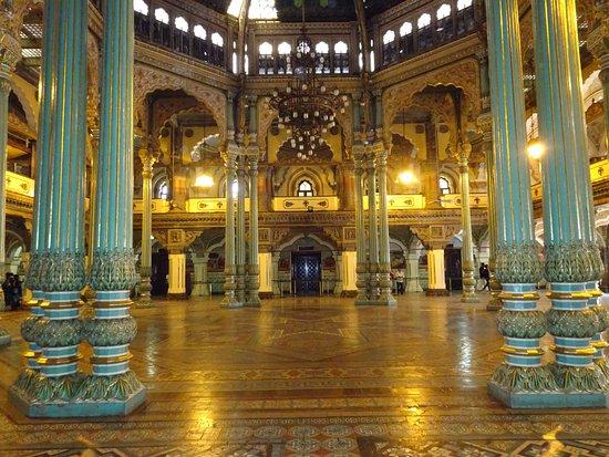 Attrayant Mysore Maharajahu0027s Palace (Amba Vilas): Mysore Palace   Interior