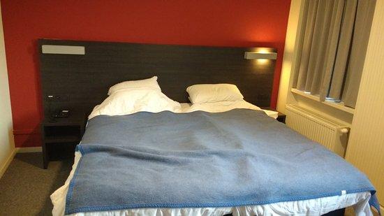 Antwerp Harbour Hotel: de bedden