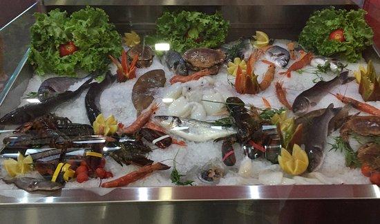 Spino d'Adda, Italy: Banco pesce
