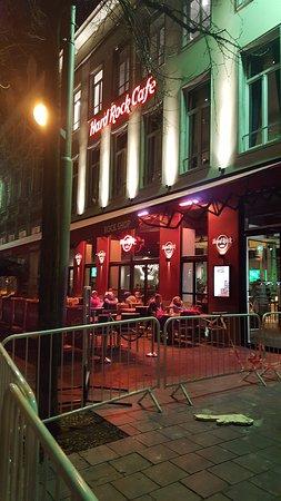 Hard Rock Cafe Antwerp: Great H.R.C