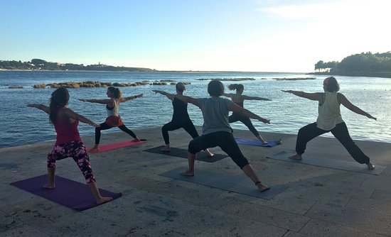 Matosinhos, Portogallo: Yoga by the River
