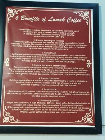 The benefits of Luwak coffee