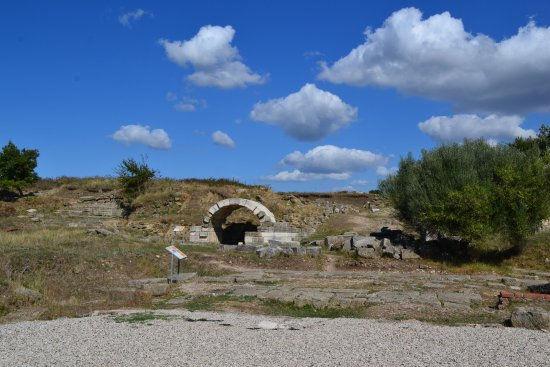 Fier, Albania: The ruins of Apollonia