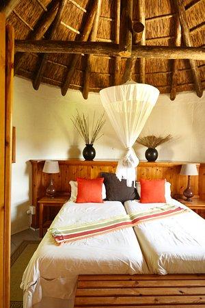 Addo, Zuid-Afrika: eines der Schlafzimmer (2 waren da!)