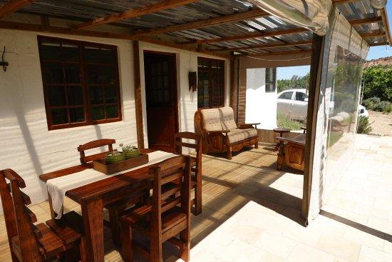 Addo, Zuid-Afrika: Vorraum mit Sitzgelegenheiten
