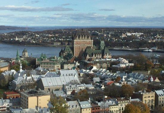 Hilton Quebec: Executive floor view4