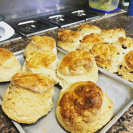 Stedham, UK: Our classic scones