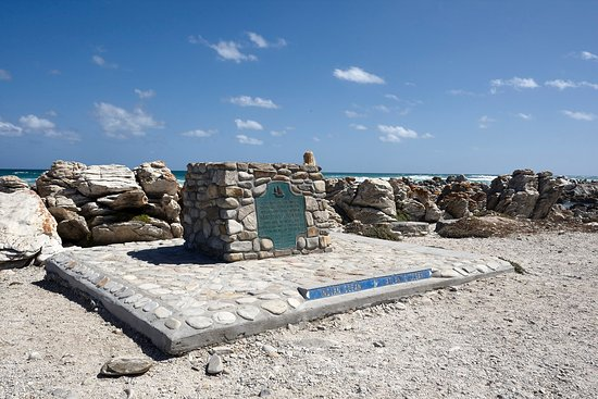 Cape Agulhas, Sudáfrica: most southern point of africa