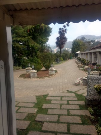 Club Mahindra Derby Green: View from door.