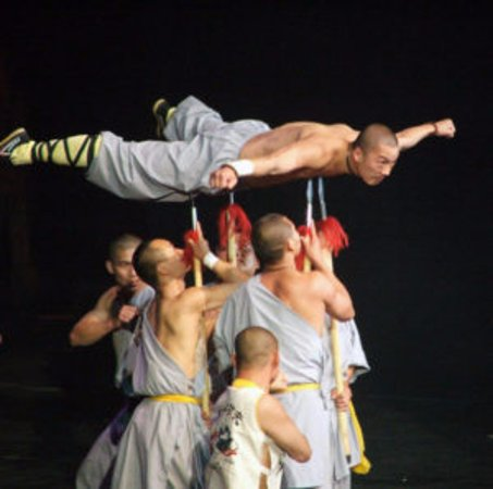 Handan, China: kung fu