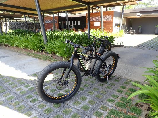 Playa Panama, Costa Rica: You can use the 6 hotel fat-tyre bikes