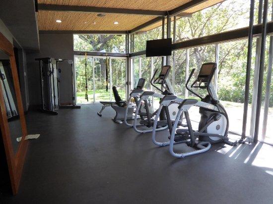 Playa Panama, Costa Rica: A small gym