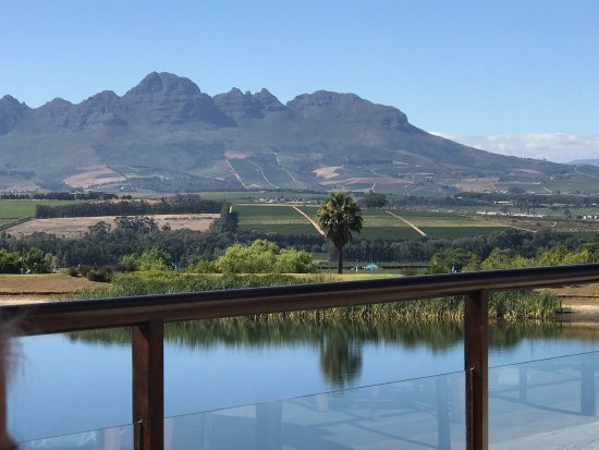 Asara Wine Estate & Hotel: View from breakfast