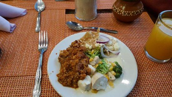 Hotel Lagos Inn: Warm ontbijt, persoonlijk vond ik het echt top.