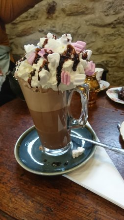 Northamptonshire, UK: Hot chocolate galore!