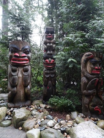 North Vancouver, Canadá: Totem pole area