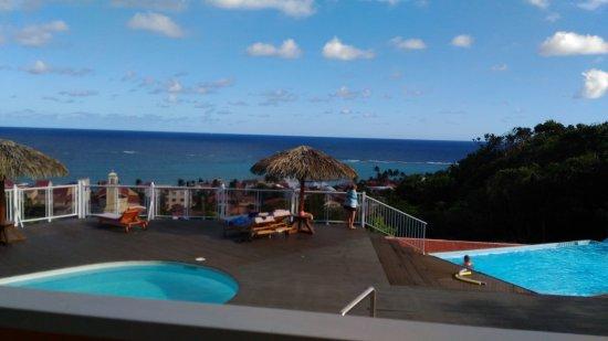 Le Soleil Levant Resort & SPA: vue de la chambre d'hôtel