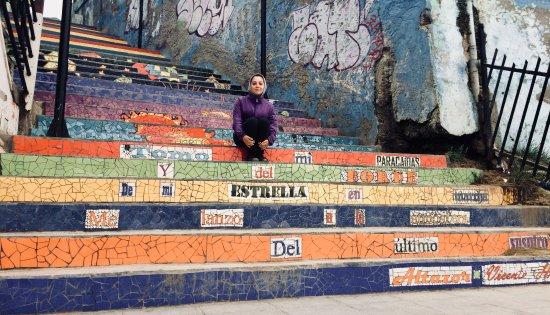 Cartagena, Chile: Escalera