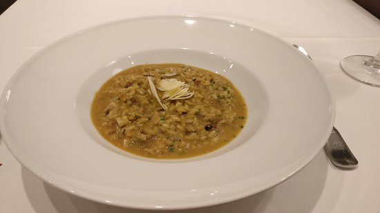 Igueldo : Rissoto de cansalada, foie y tartufata, Platazo, sublime!! Impresionante!!