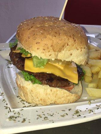 Storms River, Afrika Selatan: Burger