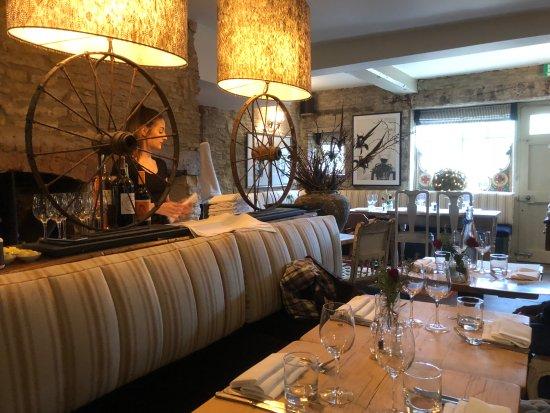 The Plough at Kelmscott: Dining Room