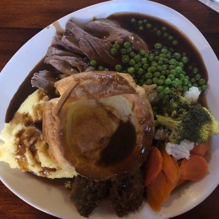 Staffordshire, UK: Beef dinner 😊
