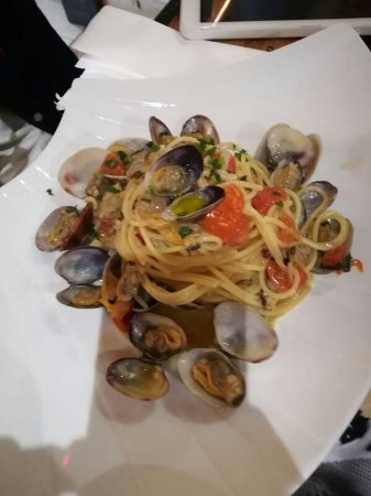 Cesano Boscone, إيطاليا: Spaghetti alle vongole