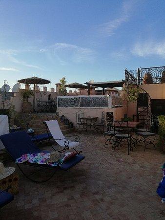 terrazza arredata - Picture of Riad Amin, Marrakech - TripAdvisor
