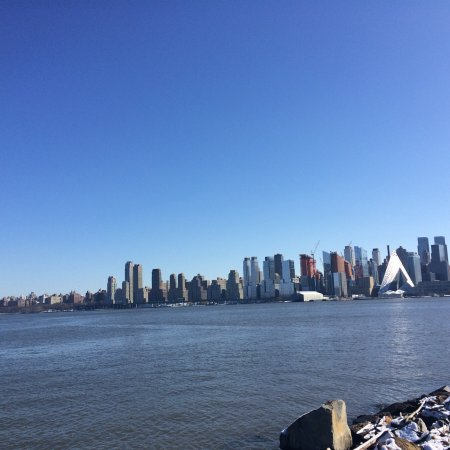 Weehawken, NJ: Great views of Manhattan