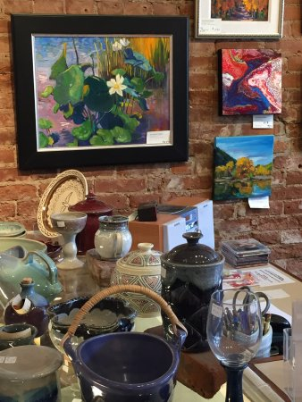Majestic Gallery in Idaho Springs is a wonder place to pick-up unique gifts created by local art