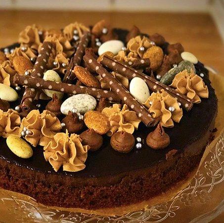 Vargarda, Suecia: Chokladtårta